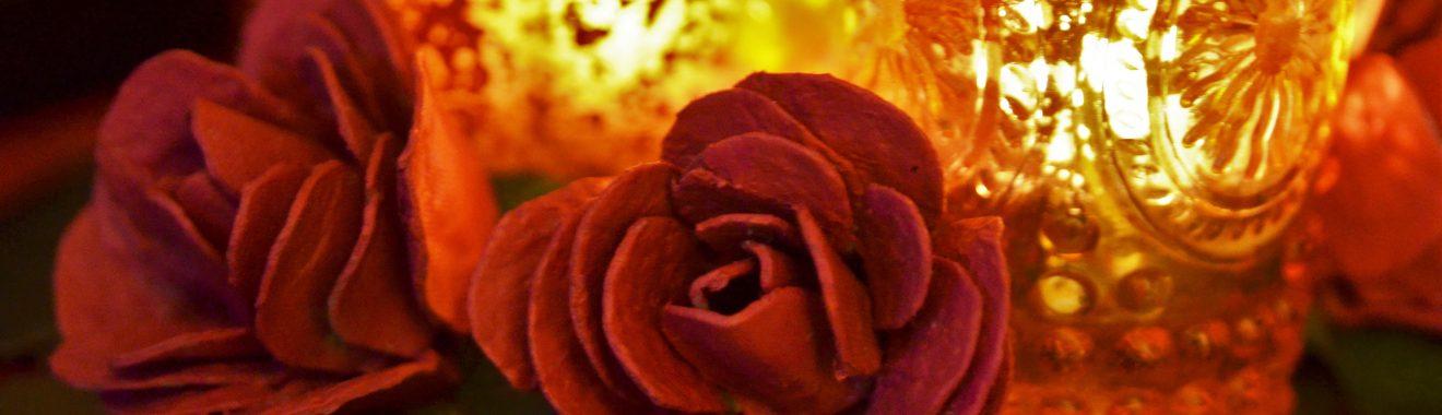 Rosen aus Eierkarton