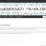 Webdesign Nevalor